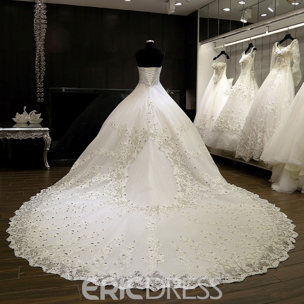 Lightinthebox wedding dresses  Luxury Sweetheart Beaded Ball Gown Wedding Dress  Ball gowns