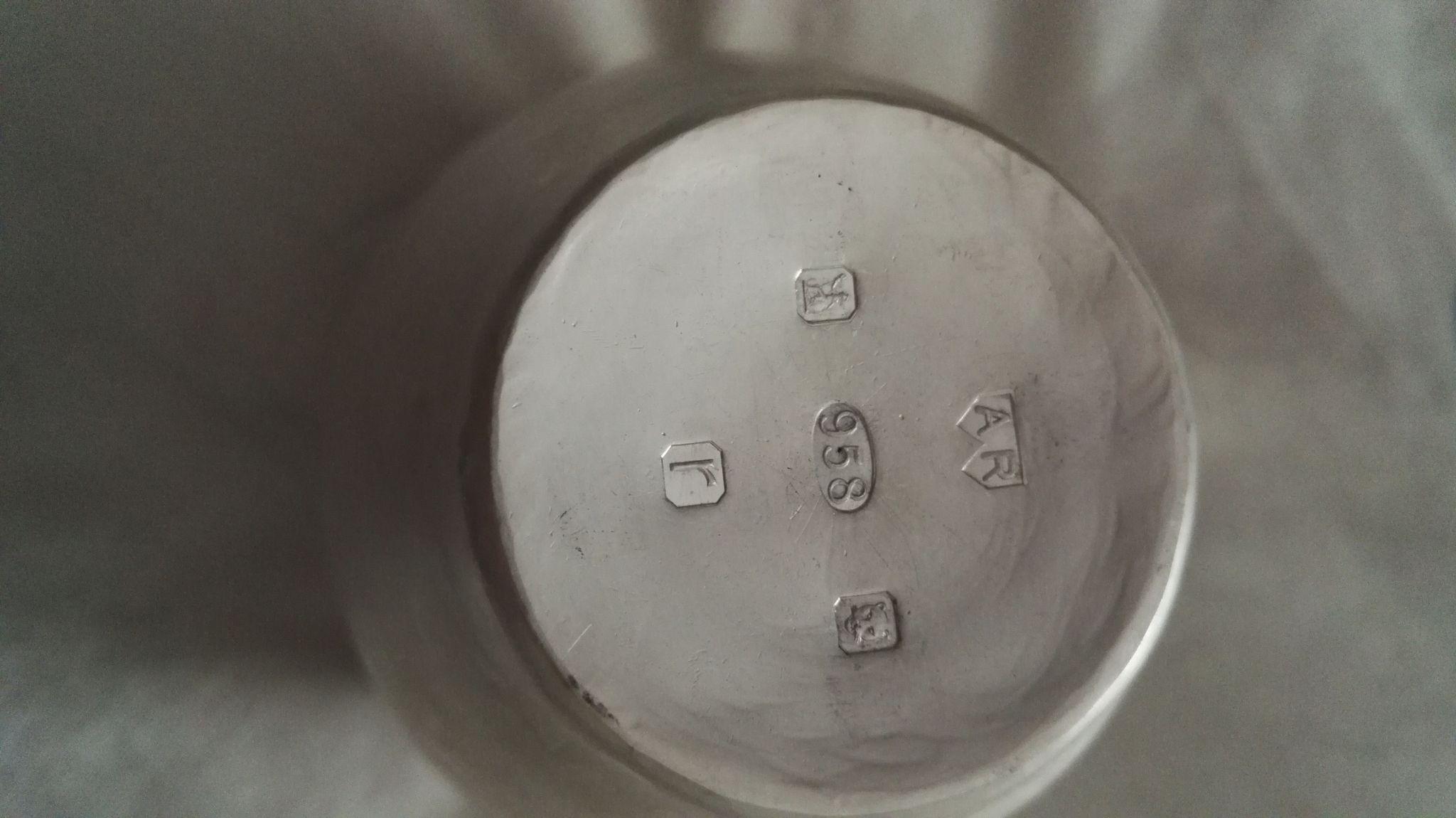 Britannia silver hallmark mine metalware my