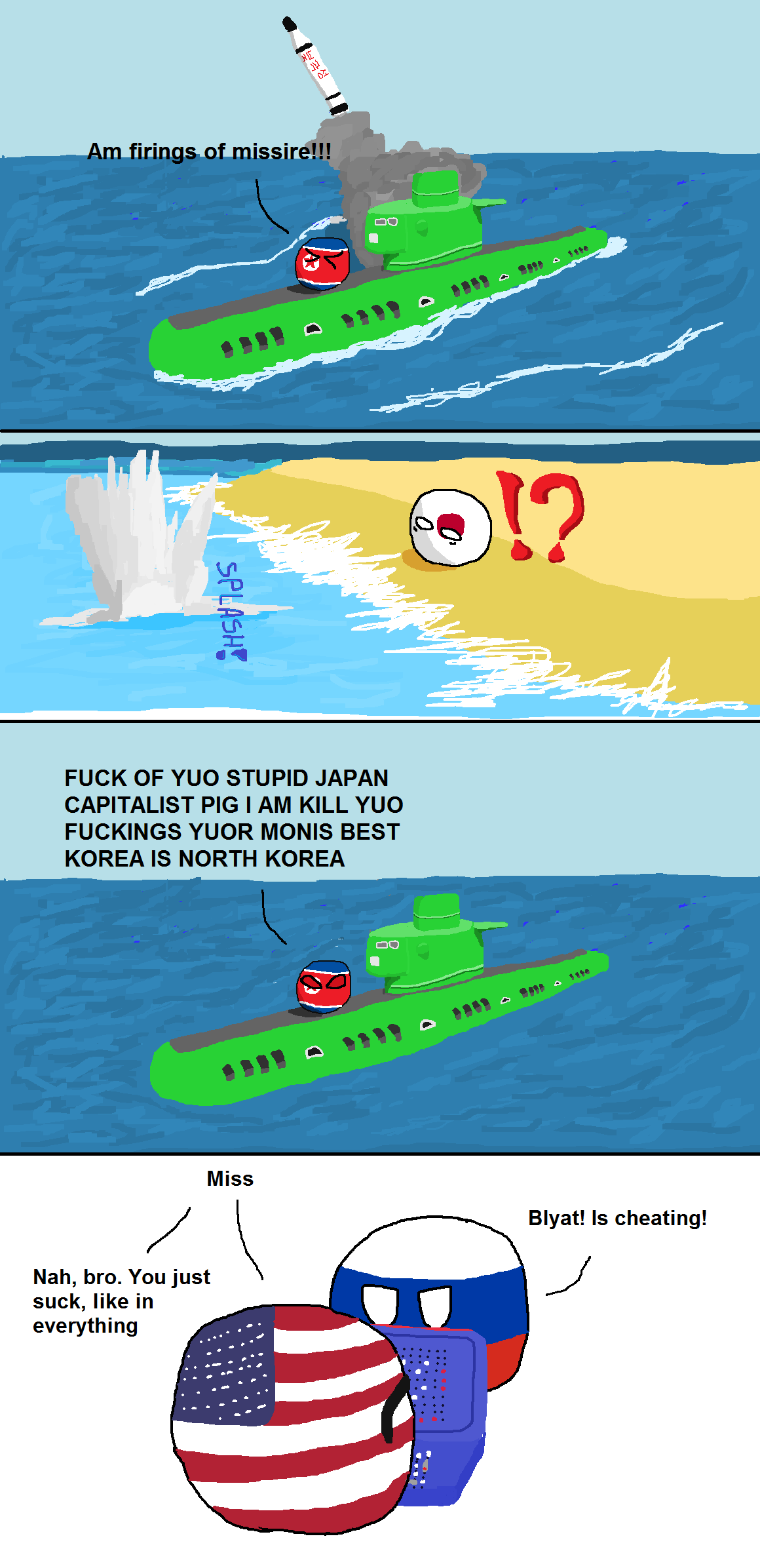 North Korea Fires a Missile | Fun stories and Memes