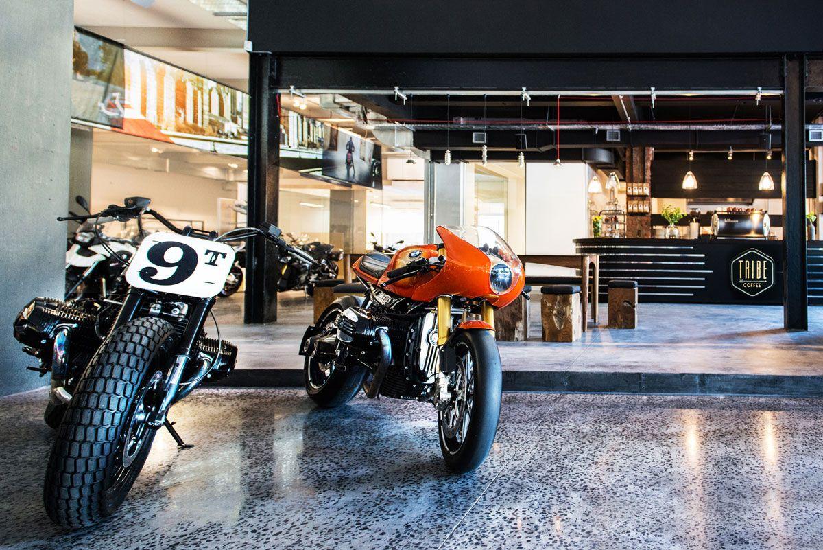 Tribe Coffee Bmw Motorrad South Africa Interiors Bmw Motorrad