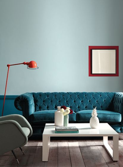blauwgroene woonkamers blauwe kamers blauwe muren kamer kleuren woonkamer decor interieur