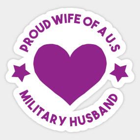 Purple Heart Medal Decoration Proud Wife Of A U S Military Husband Purple Heart Medal T Shirt Teepublic Nel 2020