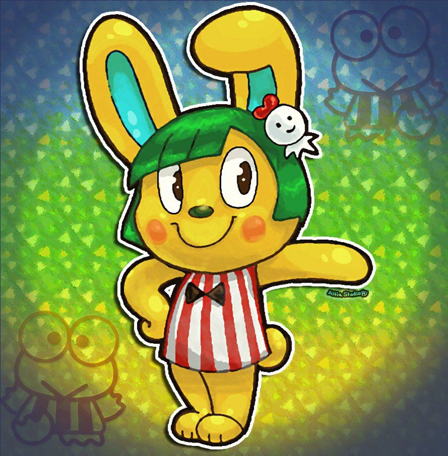 16++ Animal crossing sanrio characters images