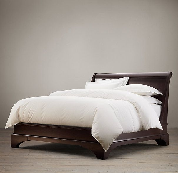 Portman Sleigh Bed Bed Without Footboard Bed Furniture Bedroom