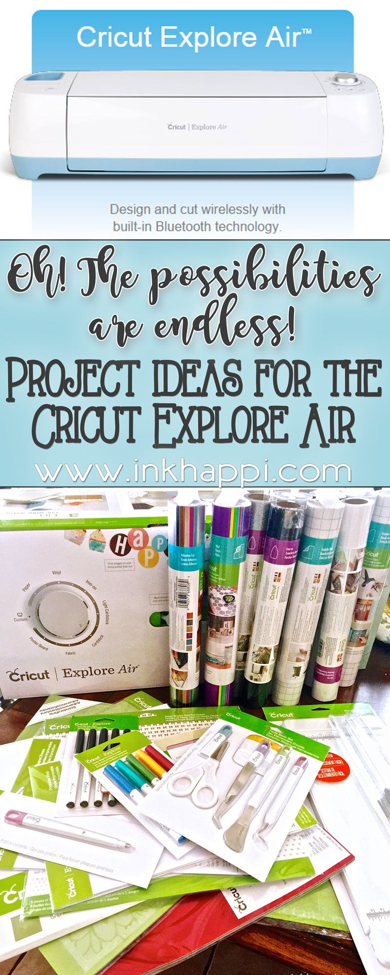Cricut Explore Project Ideas... Oh, The possibilities