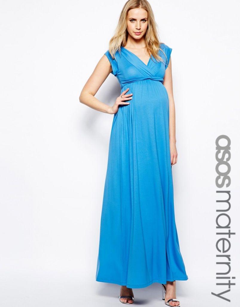 Assez Robe longue de grossesse grande taille | mode pige | Pinterest  CV99