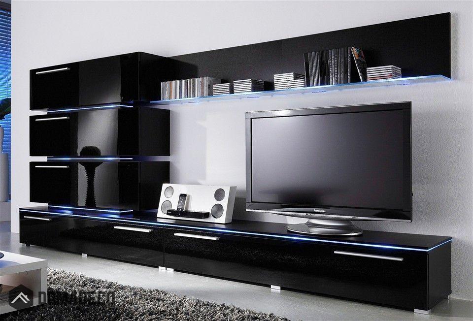 Liren 2 meuble tv moderne Vitrines modernes, Meuble tv