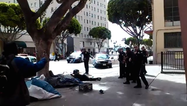 California Police Killed More People Than In Any Other State In The Last Year Homeless Man The Heart Of Man Man