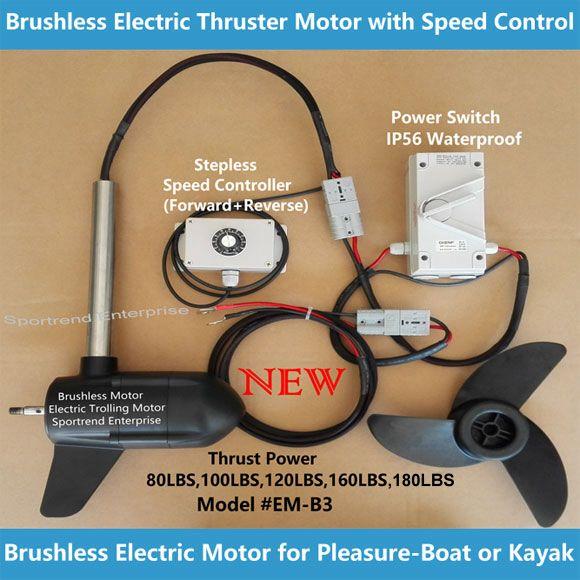 Product Sportrend Enterprise Electric Trolling Motors