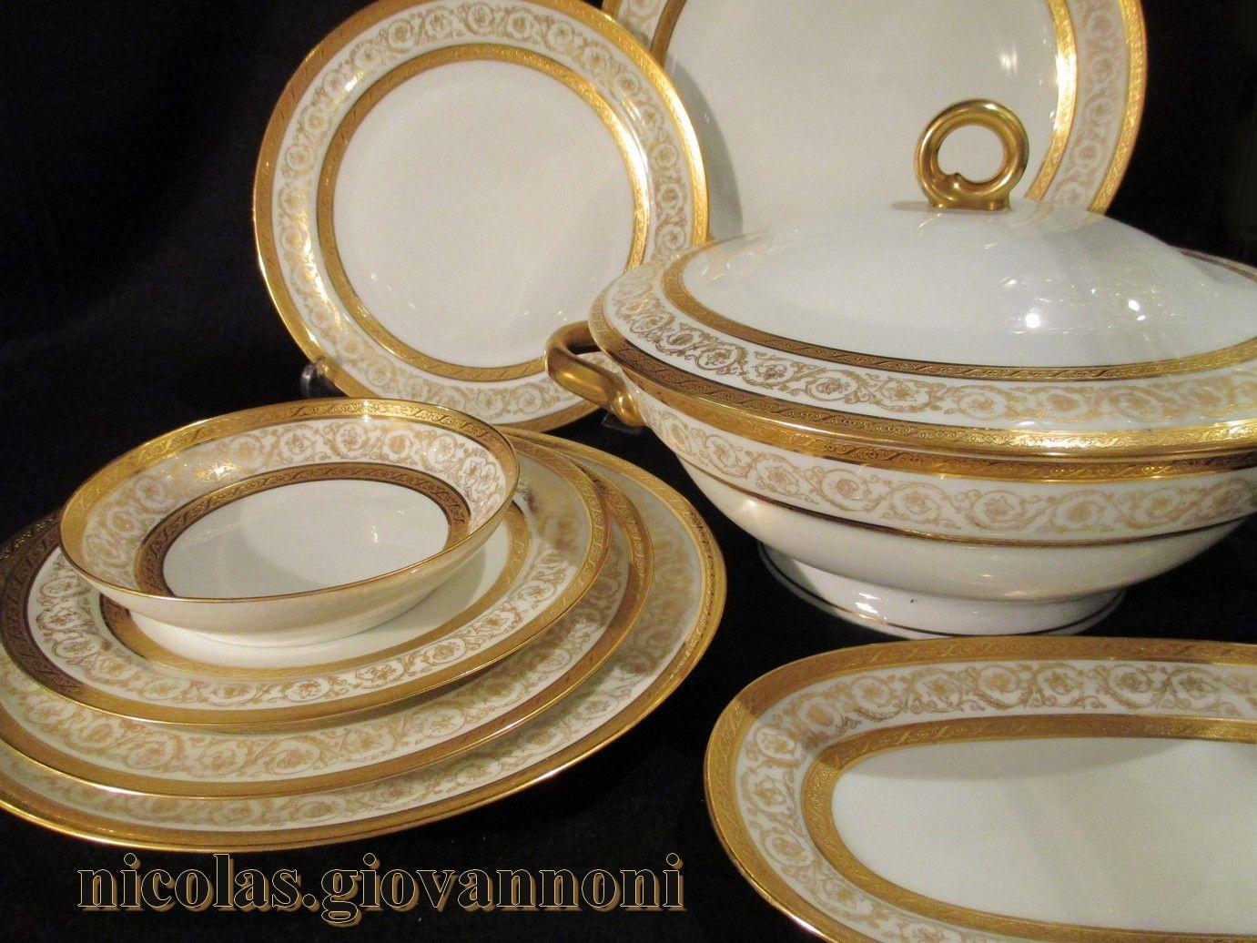 100 pi ces or incrust bruni l 39 agate malevergne limoges porcelaine catalogue. Black Bedroom Furniture Sets. Home Design Ideas