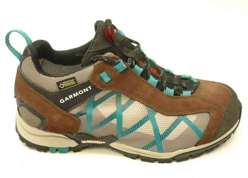 81555d1e270 Garmont Mystic Surround Sz 6.5 Brown GTX Low Hiking Womens Boots ...