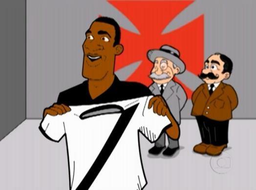 Camisa do Vasco Branca Faixa Preta Nova Promoção