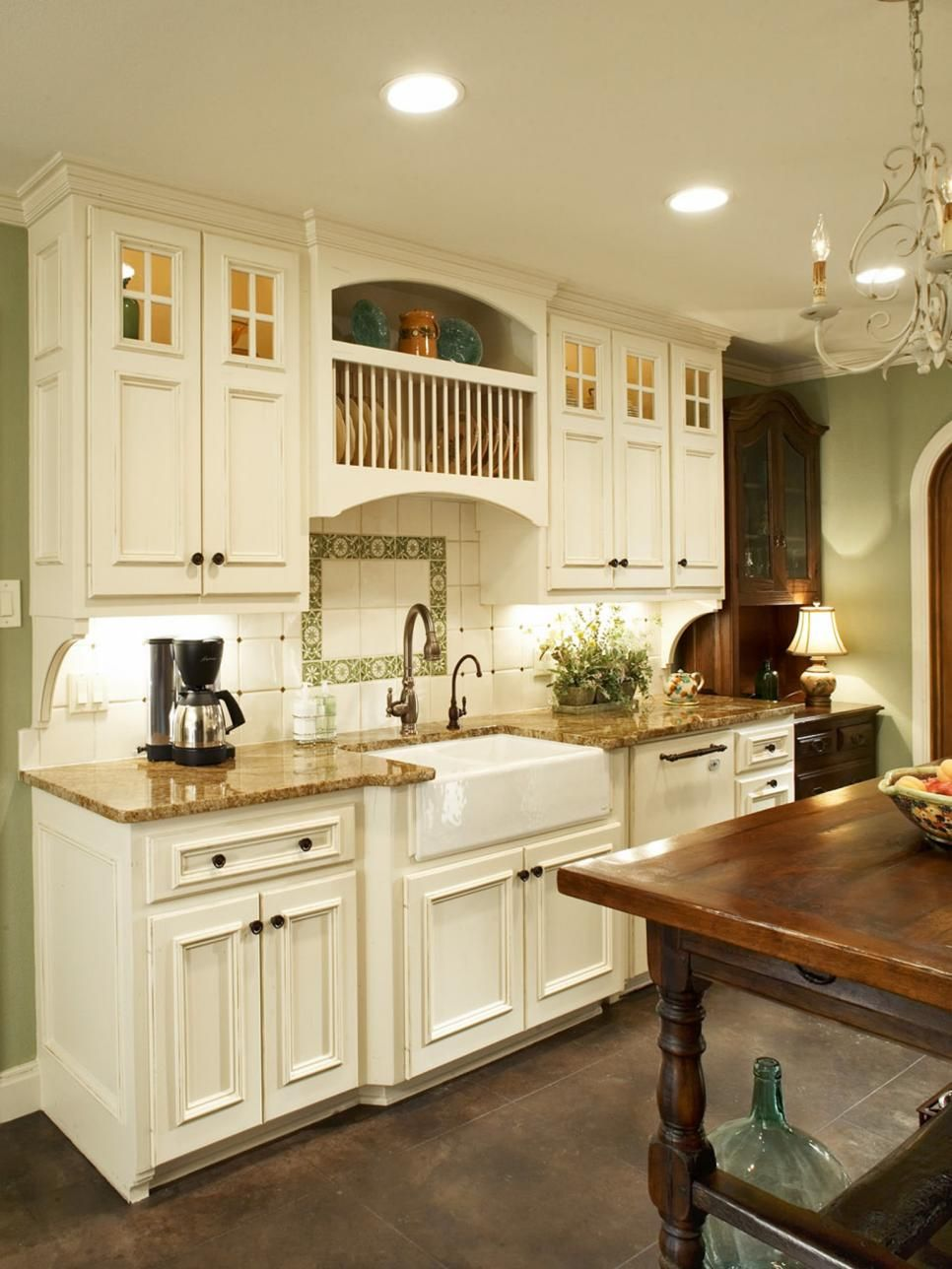 From 70s Disaster To French Country Masterpiece Country Kitchen Cabinets French Country Kitchen Cabinets Cottage Kitchen Cabinets