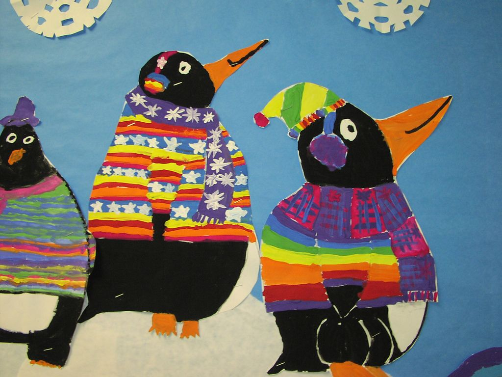 Tacky The Penguin Inspired Mural
