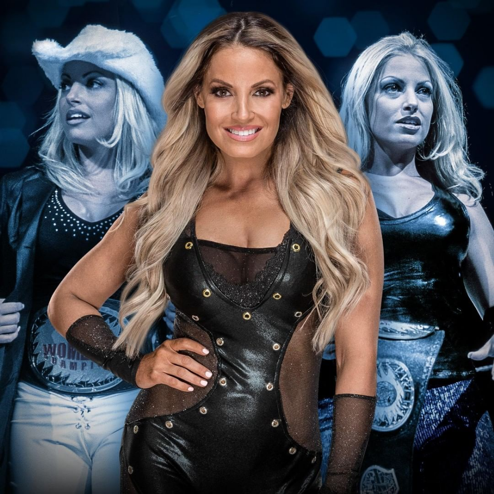 Trish Stratus Hall Of Fame 7x Women S Champion Diva Of The Decade 3x Babe Of The Year Wwe Hof Trish Wwe Raw Women Wwe Trish Wwe Female Wrestlers
