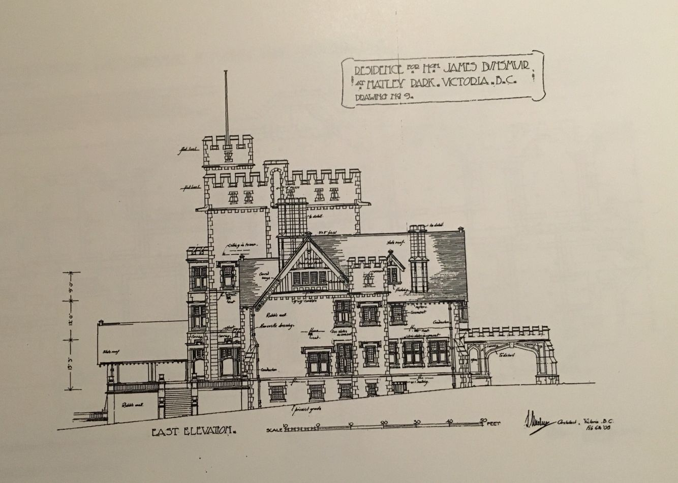 Hatley Castle Floor Plan Hatley Castle East Elevation Gilded Age Mansions