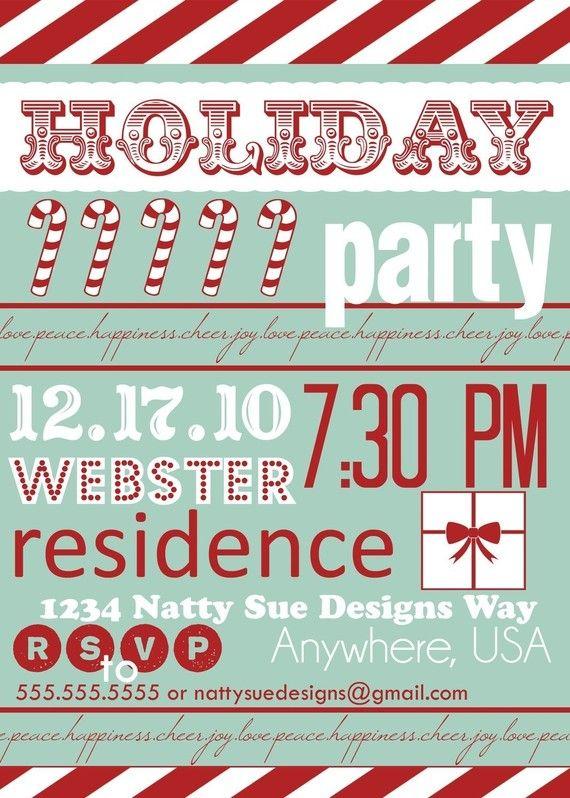 Weihnachtsfeier Plakat.Xmas Party Invite Einladung Zur Weihnachtsfeier Weihnachten