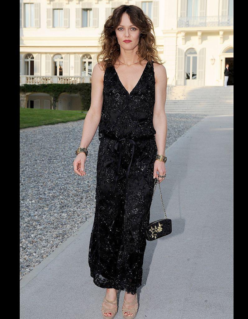 Vanessa Paradis Scintillante en combi Chanel