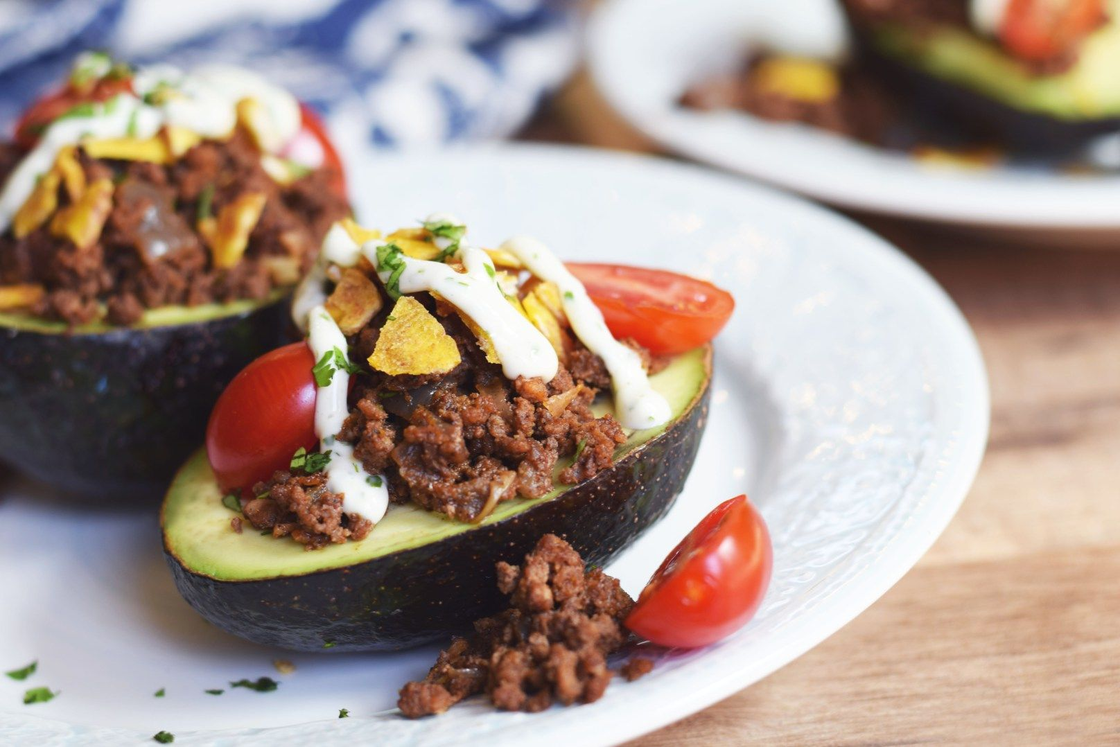Taco Stuffed Avocados - Living Loving Paleo