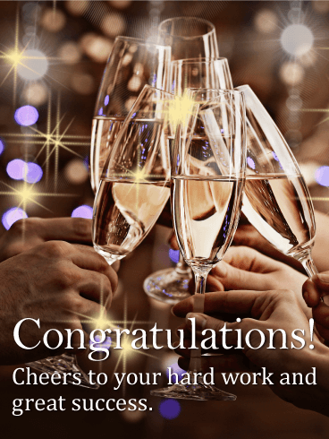 Congratulations Cards Birthday Greeting Cards By Davia Free Ecards Congratulations Quotes Achievement Congratulations Card Congratulations Images