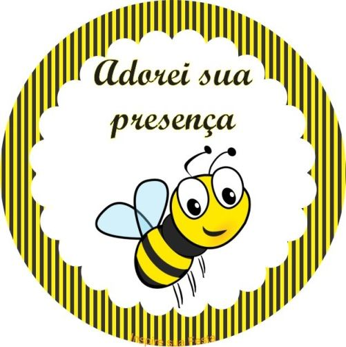 Abelhinha Kit Festa Grátis Para Imprimir Abelhinhas Bee