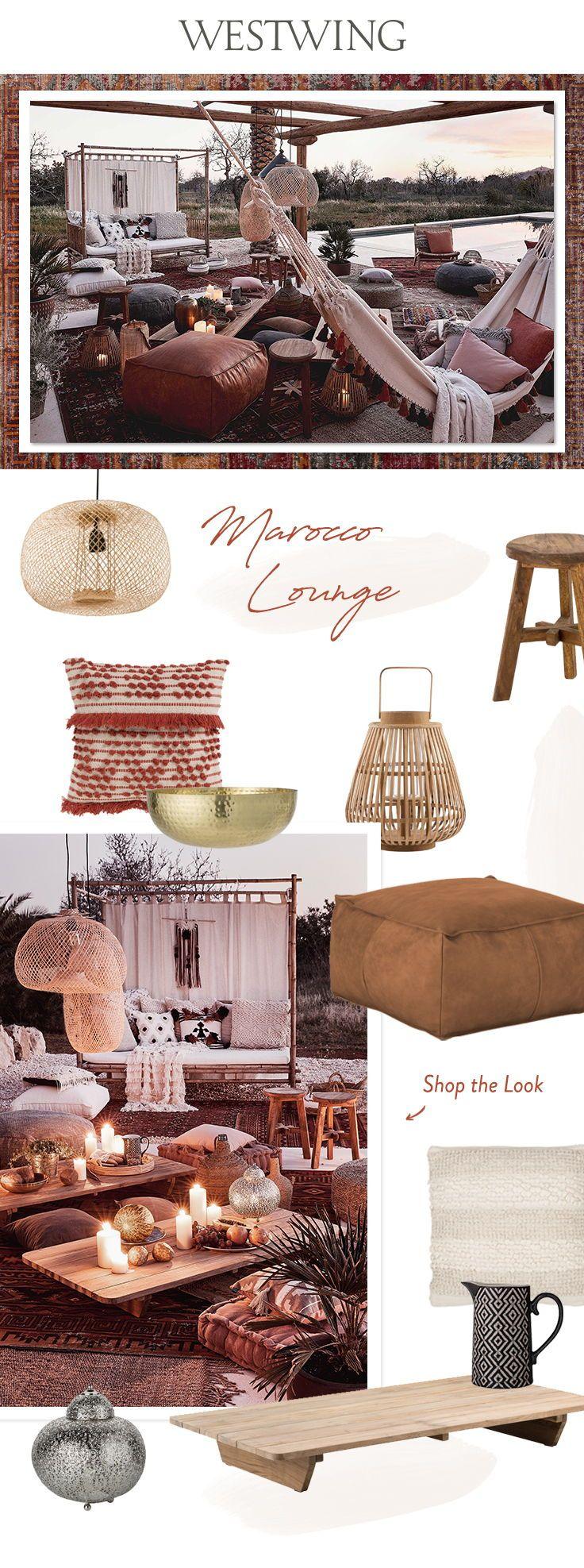 Look »Marocco Lounge« Il Marocco evoca le tonalità
