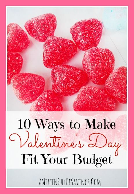 how to make valentine's day fit into your budget | mittens, Ideas