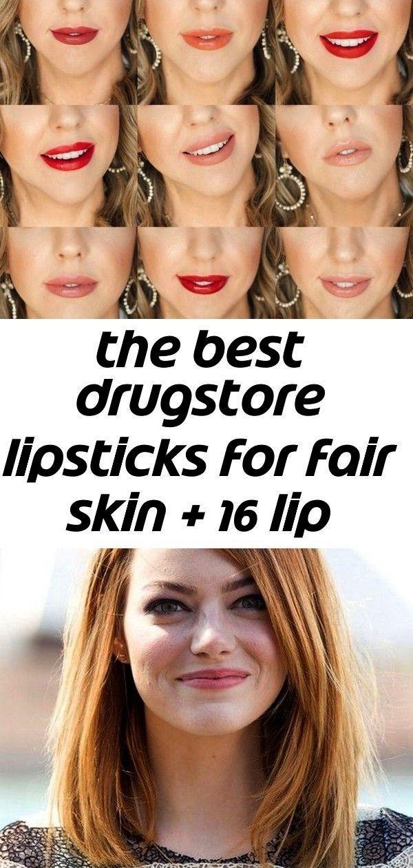 best drugstore lipsticks for fair skin   16 lip swatches 6        The best drugstore lipsticks for