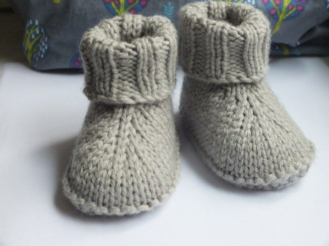 Baby-Hausschuhe | Ines strickt | shoes & socks diy | Pinterest ...