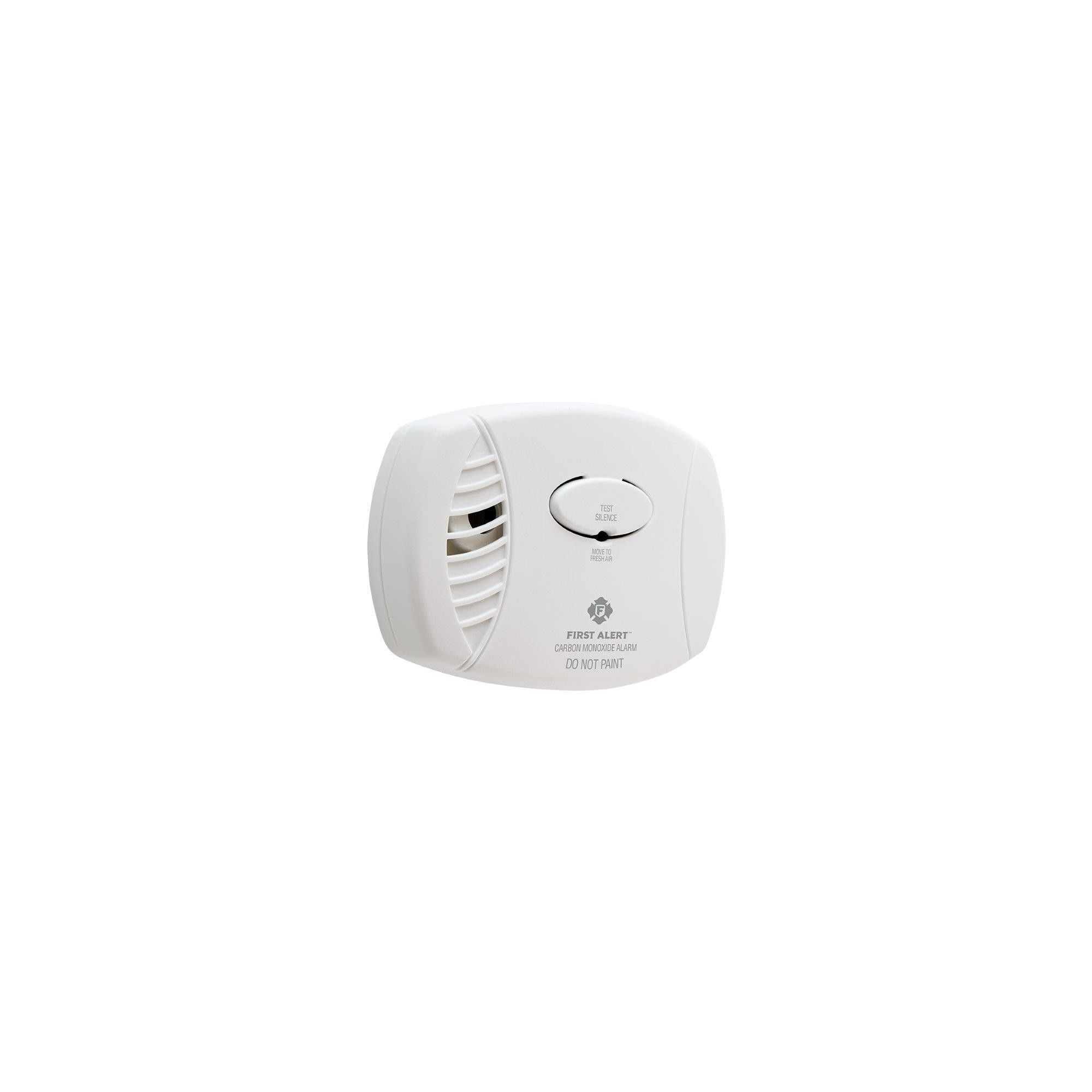 First Alert Battery Operated Carbon Monoxide Alarm Carbon Monoxide Alarms Battery Operated 9 Volt Battery