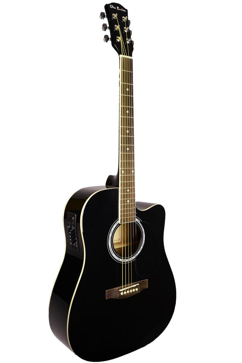Glen Burton Cutaway Acoustic Electric Guitar Acoustic Electric Guitar Best Guitar For Beginners Guitar