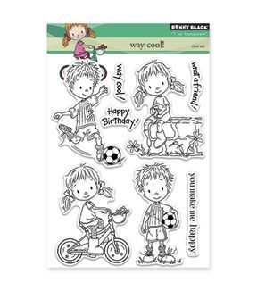 Penny Black Clear Stamps-Way Cool