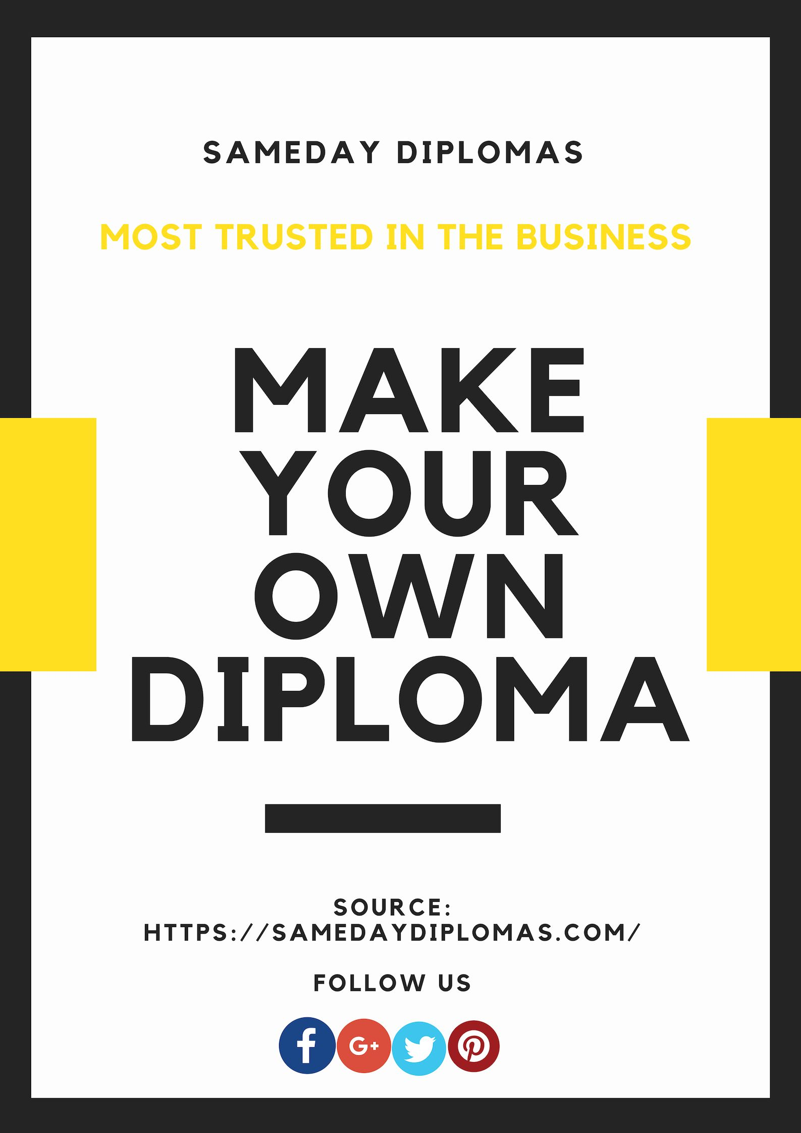 make your own diplomas at affordable costs you can order anytime