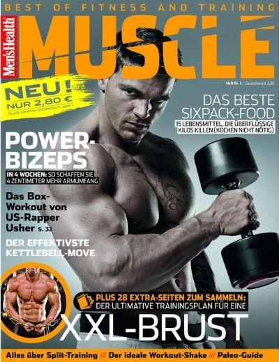 men s health muscle neuer ableger f r fitnessaffine. Black Bedroom Furniture Sets. Home Design Ideas