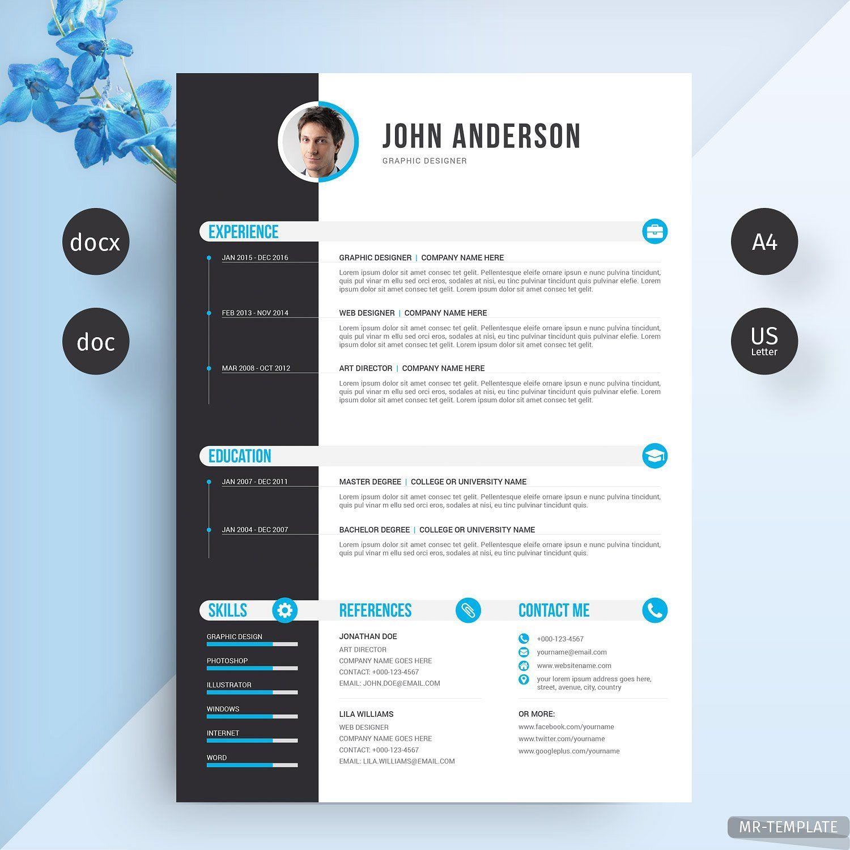 Resume Cv Resume Cv Resume Design Cv Template