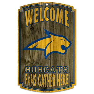 Wincraft Collegiate NCAA University of Missouri Textual Art Plaque NCAA Team: Montana State