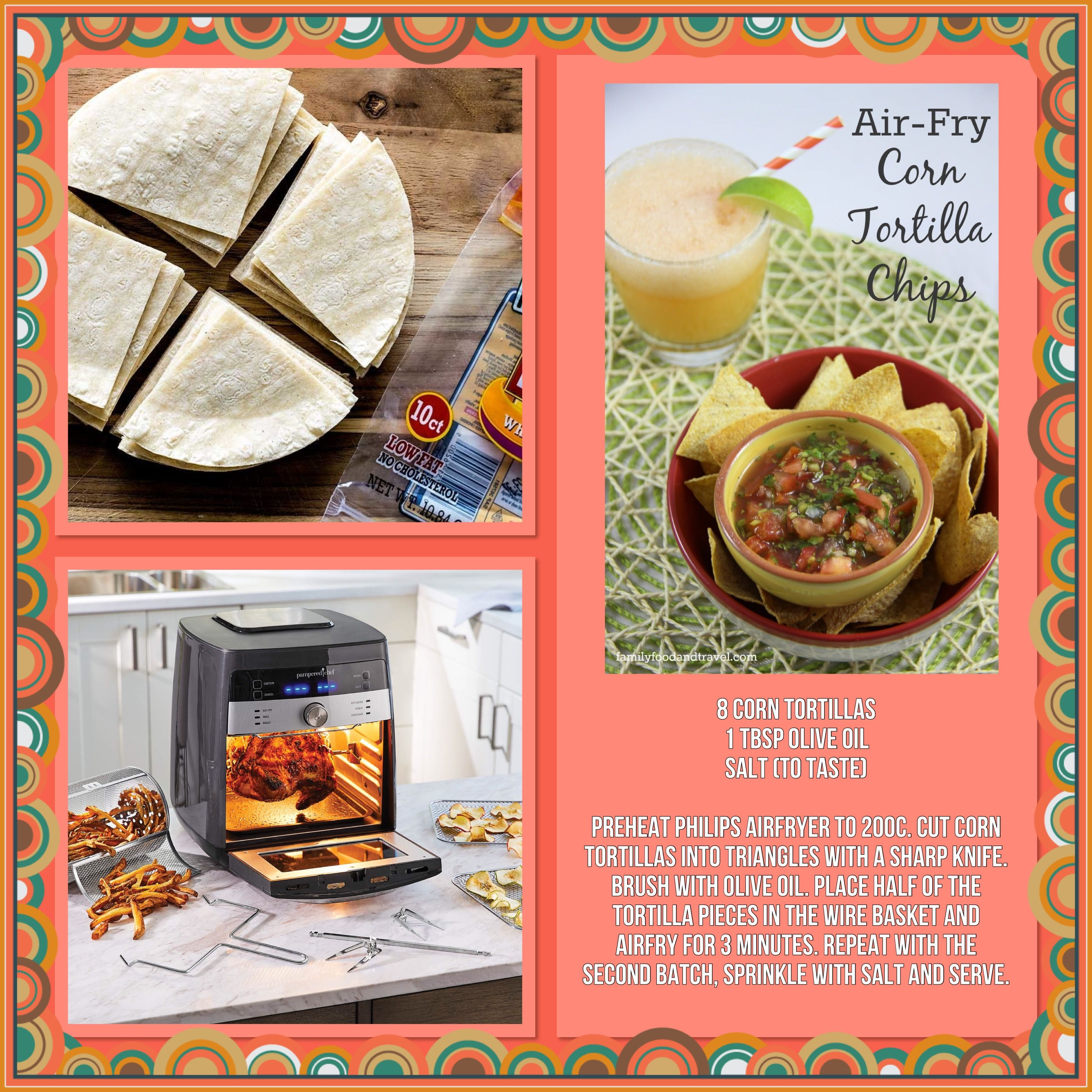 Air fryer corn tortillas in 2020 pampered chef pampered
