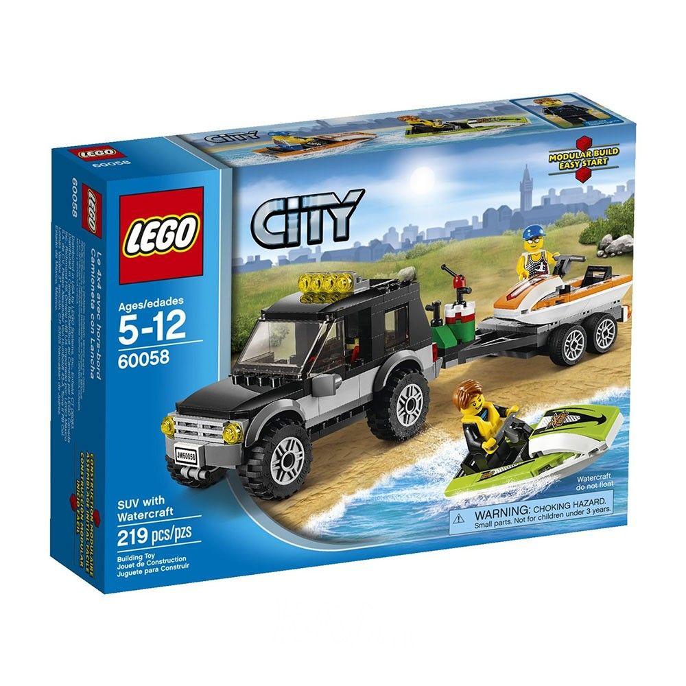 LEGO 60058 - Xe Thể Thao và Moto Nước - giảm giá 47% | KAY.vn | Thành phố  lego, Lego, Đồ chơi