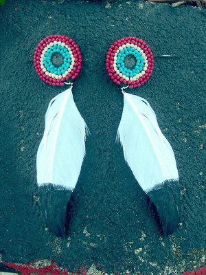 Native American Inspired Earrings on Etsy, $20.00