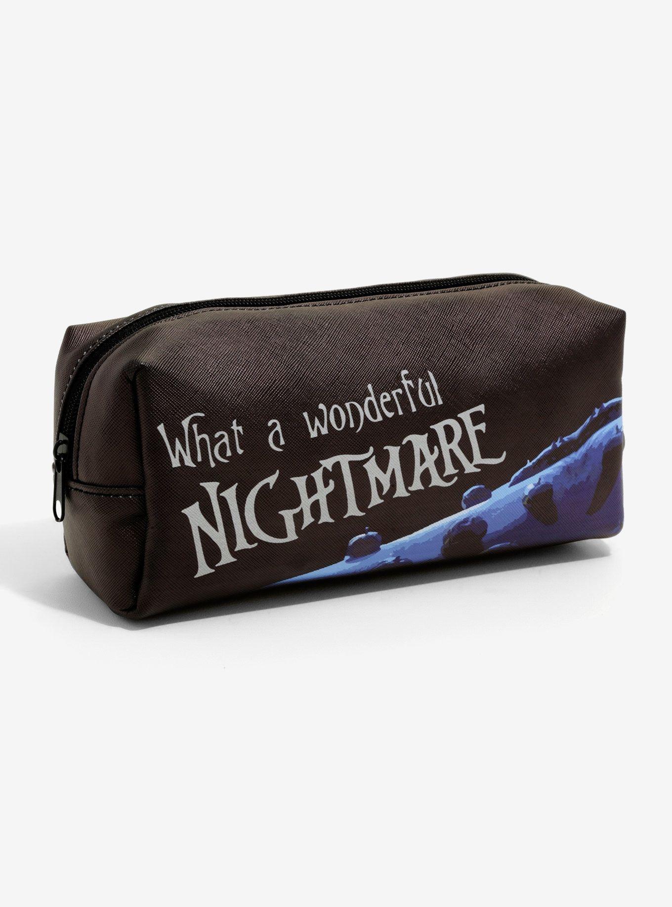 The Nightmare Before Christmas Jack & Sally Makeup Bag