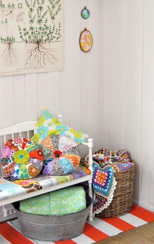 Crochet 9 | Decorating Ideas #craftsmanstylehomes