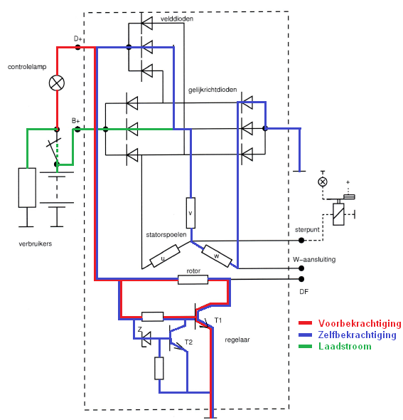 Tachometer Wiring Diagram additionally Gauges besides Al Ka F Dim R furthermore Fa F Bcc B Cb C Cec Cbc B further Guide. on vw alternator wiring diagram with amp meter