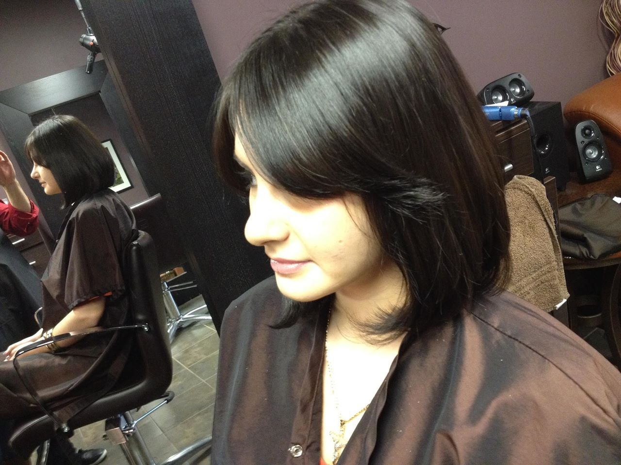 Hair cutting and head shaving stories - Indian Headshave Stories Shika S Bobcut