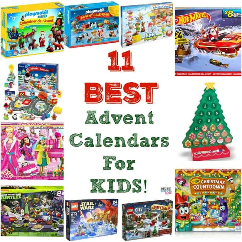 11 Best Advent Calendars For Kids The Most Popular Kids Advent