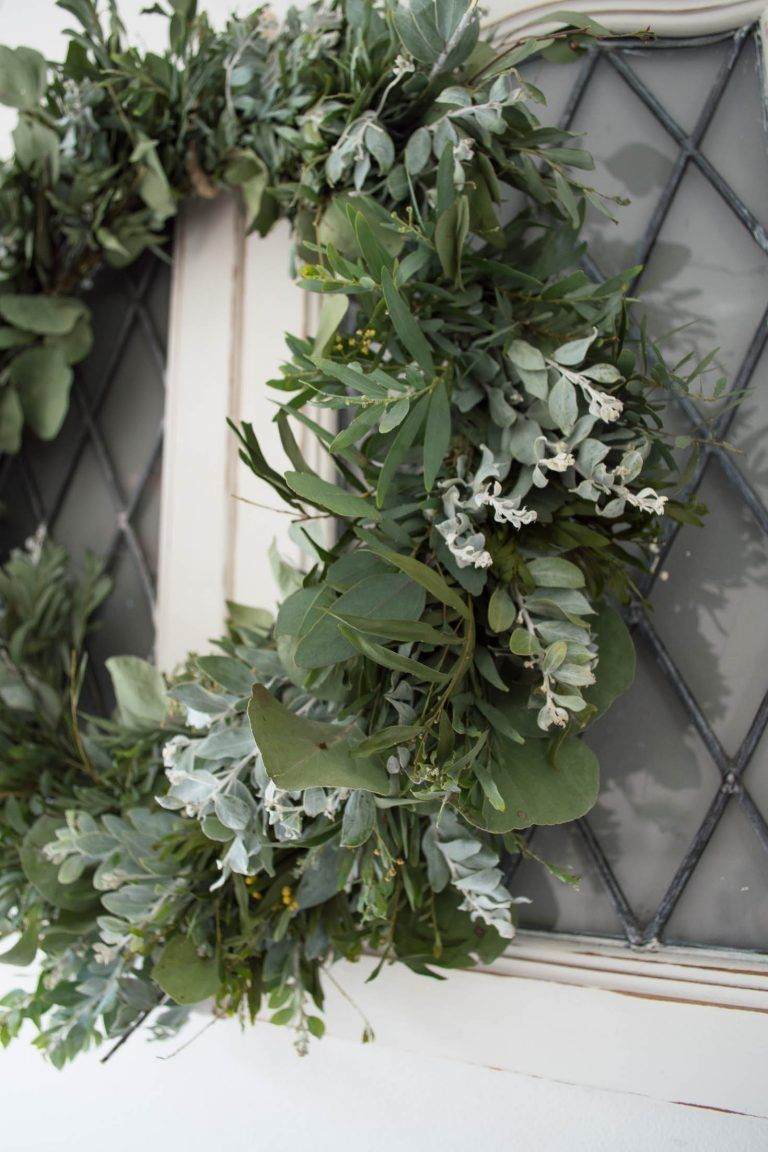 DIY Australian Native Wreath Christmas wreaths diy