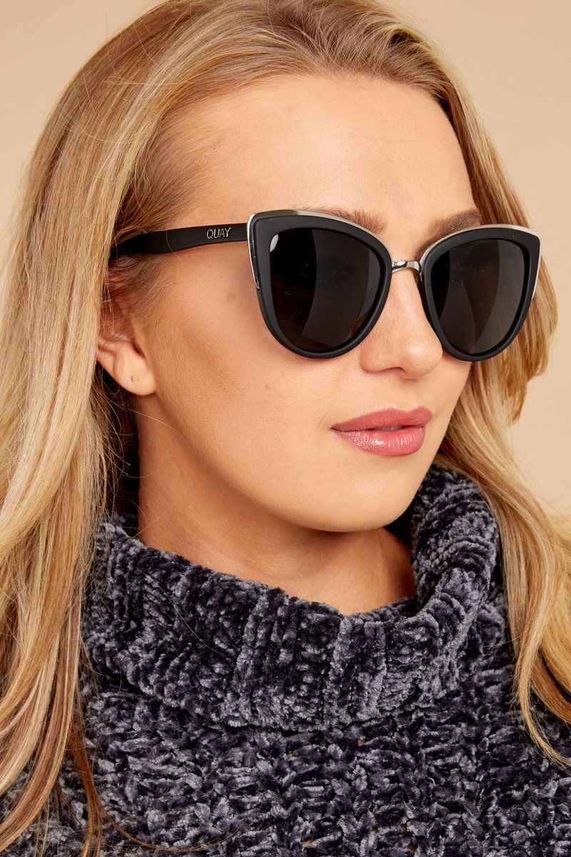 Quay Australia My Girl Sunglasses Trendy Black