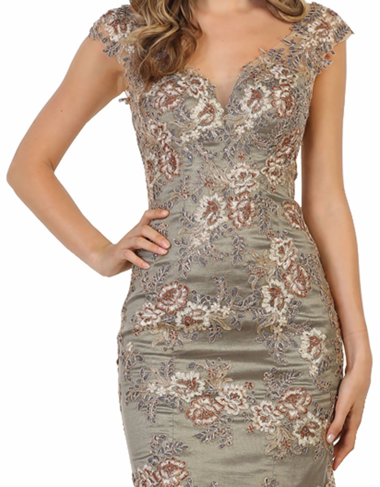 May Queen Corset Back Prom Evening Gown Walmart Com Vestidos [ 1600 x 1251 Pixel ]