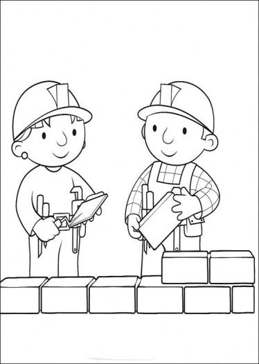 building wall neheimiah for kids  building walls Colouring Pages