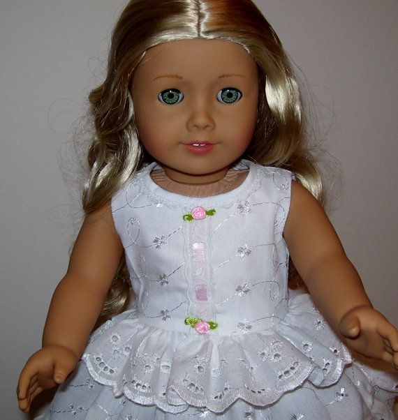 Pretty 1800's undergarments fit American Girl by KathyAnneDesigns, $22.99