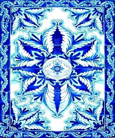 Decorative Persian Tiles Persian Design Mosaic Panel Hand
